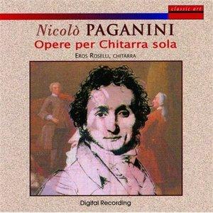 Image for 'Nicolo Paganini: Opere Per Chitarra Sola'