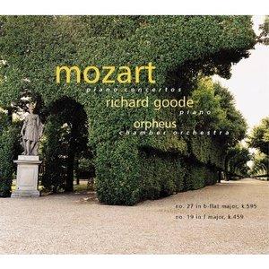 Image for 'Mozart Piano Concertos: No. 27 in b-flat Major, K. 595; No. 19 in F Major, K. 459'