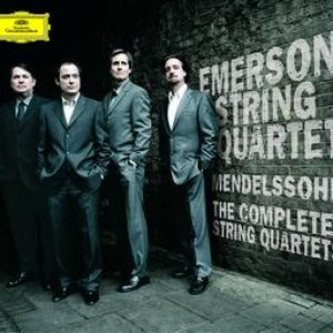 Image pour 'Mendelssohn: The String Quartets with Octet in two parts'