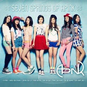 """Seven Springs of Apink (EP)""的封面"