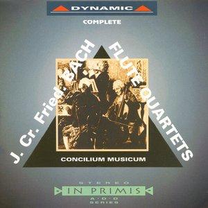 Image pour 'Bach, J. C. F.: Flute Quartets in D Major / G Major / C Major / A Major / F Major / B Flat Major'