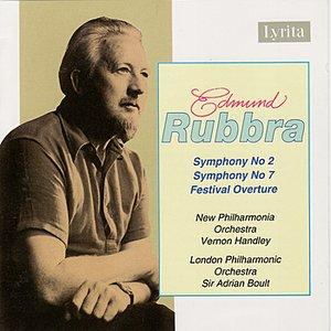 Image for 'Rubbra: Festival Overture & Symphony Nos. 2 & 7'