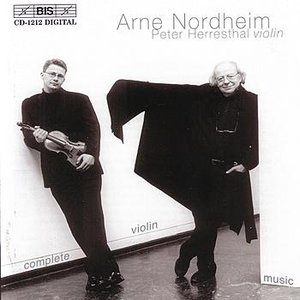 Image for 'NORDHEIM: Complete Violin Music'