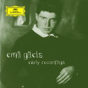Image for 'Emil Gilels - Early Recordings'