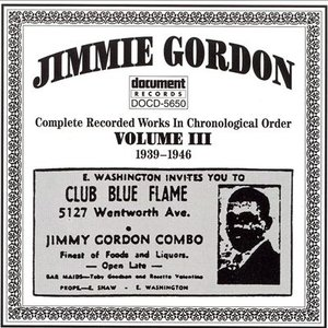 Image for 'Jimmie Gordon Vol. 3 (1939-1946)'