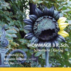 Image for 'Schumann, Kurtag, Hommage ? Robert Schuman'