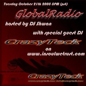 Image for 'DJ CrazyTeck @ GlobalRadio 2008-10-21'