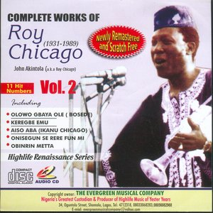 Image for 'Complete Works Of Roy Chicago (1931-1989) Vol.2'