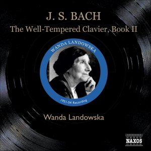 Image for 'BACH, J.S.: The Well-Tempered Clavier, Book II (Landowska) (1951-1954)'