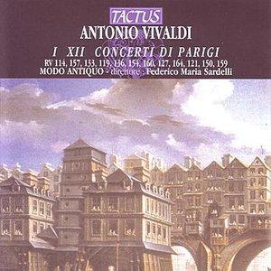 Image for 'Vivaldi: Concerti Di Parigi I XII'