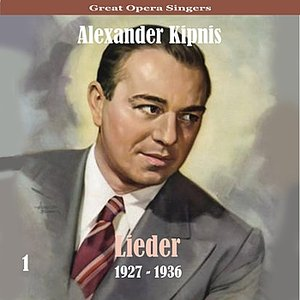 Image for 'Great Opera Singers / Lieder  / 1927 - 1936, Volume 1'