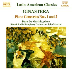 Image for 'GINASTERA: Piano Concertos Nos. 1 and 2'