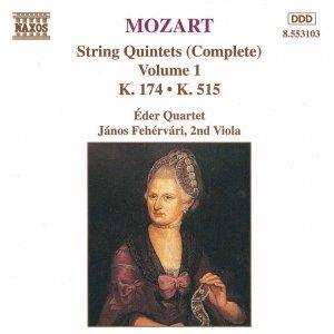 Image for 'MOZART: String Quintets, K. 174 and K. 155'