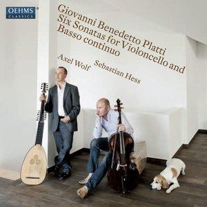 Image for 'Platti: 6 Sonatas for Violoncello and Basso continuo (1725)'