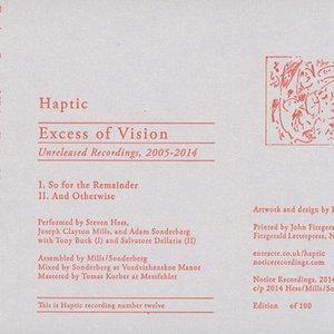 Imagem de 'Excess of Vision: Unreleased Recordings, 2005-2014'