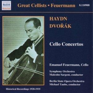 Image for 'HAYDN / DVORAK: Cello Concertos (Feuermann) (1928-1935)'