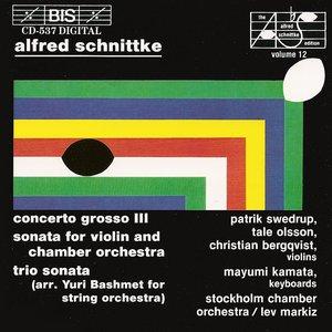 Image for 'Schnittke: Concerto Grosso No. 3 / Violin Sonata / Trio Sonata'