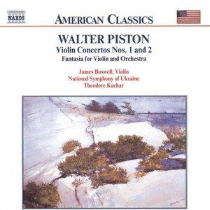 Image for 'PISTON: Violin Concertos Nos. 1 and 2 / Fantasia for Violin'