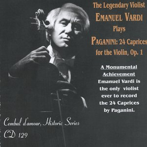 Image for 'The Legendary Violist Emanuel Vardi Plays Paganini: 24 Caprices for the Violin, Op.1'