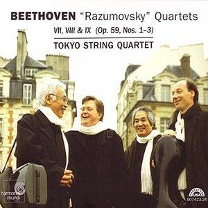 """Image for 'Beethoven: """"Razumovsky"""" Quartets (Op.59, Nos.1-3)'"""