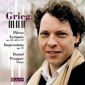 Image for 'Grieg: Lyric Pieces Op. 65, 68, & 71 and Impressions, Op. 73'