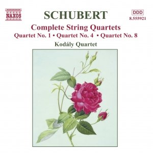 Image for 'SCHUBERT: String Quartets Nos. 1, 4 and 8'