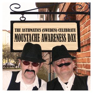 Image for 'The Asthmatics Celebrate Moustache Awareness Day'