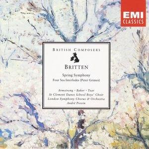 Bild för 'Britten: Spring Symphony, Four Sea Interludes (Peter Grimes)'