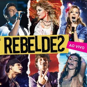 """Rebeldes (Ao Vivo)""的封面"