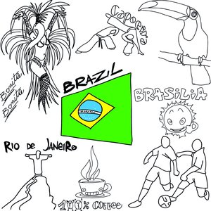 Image for '100% Brazil Coffee Lounge 2014 (Bonita Brasilia Chill Out Football Edition Mundial)'
