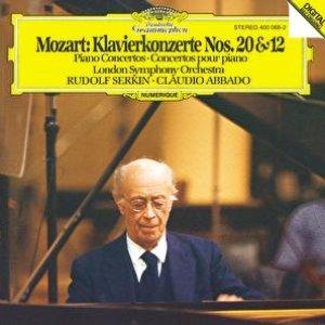 Image for 'Mozart: Piano Concertos Nos.12 & 20'