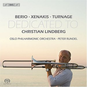 Image for 'Berio / Xenakis / Turnage: Trombone Concertos Dedicated To Christian Lindberg'
