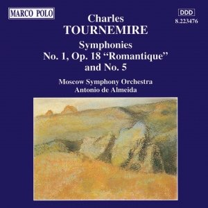 Image for 'TOURNEMIRE: Symphonies Nos. 1 and 5'