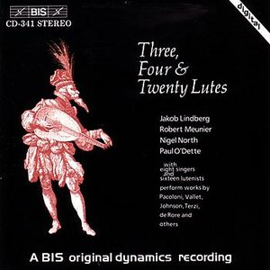 Image pour 'MUSIC FOR THREE, FOUR, AND TWENTY LUTES'
