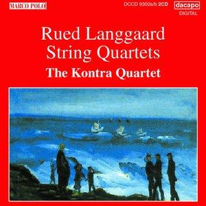 Image for 'Langgaard: String Quartets'