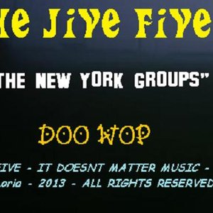 Image pour 'THE JIVE FIVE (THE NY GROUPS) doo wop'