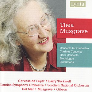 Image for 'Thea Musgrave: Concertos, Monologue & Excursions'