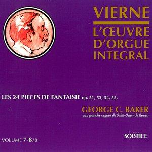 Image for 'Vierne: L'oeuvre d'orgue integral'