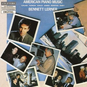 Image for 'American Piano Music Vol I of II, Copland, Thomson, Bowles, Barber, Bernstein, Rame'