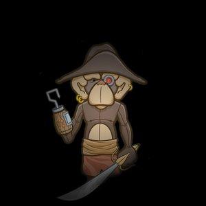 Imagen de 'Robotic Pirate Monkey'