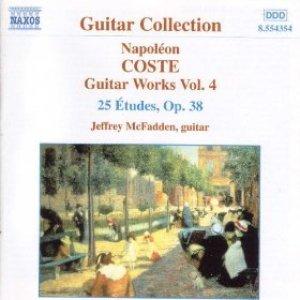 Image pour 'Coste: Guitar Works, Vol. 4'
