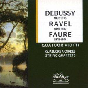 Image for 'Debussy, Ravel et Fauré : Quatuors viotti'