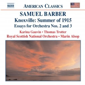 Image pour 'BARBER: Knoxville: Summer of 1915 / Essays for Orchestra Nos. 2 and 3'