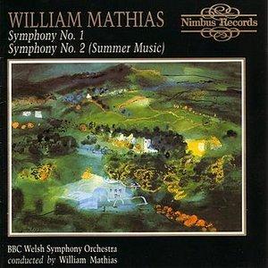 Image for 'William Mathias - Symphonies Nos 1 & 2'