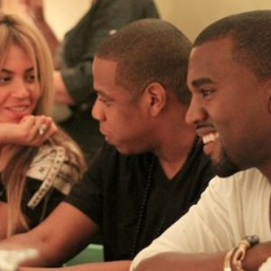 Image for 'Jay-Z & Kanye West feat. Beyoncé'