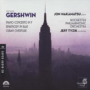 Image pour 'Gershwin: Piano Concerto in F, Rhapsody in Blue, Cuban Overture'