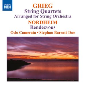 Image for 'Grieg: String Quartets (arr. for string orchestra) - Nordheim: Rendezvous'