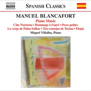 Image for 'Blancafort, M.: Piano Music, Vol. 5'