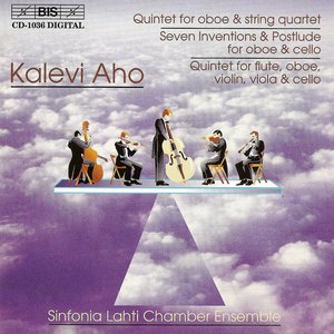 Image for 'Aho: Oboe Quintet / 7 Inventions and Postlude / Flute, Oboe and Strings Quintet'