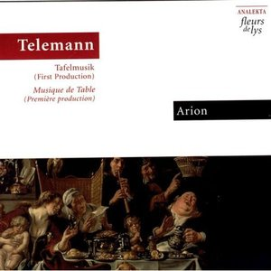 Image for 'Telemann: Tafelmusik (First Production)'